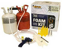 Одноразовые портативные установки для напыления пенополиуретана FoamKit 300