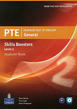 Pearson PTE Test of English General Skills Booster Level 2 Students' Book with Audio CD / Pearson