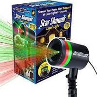 Лазерный проектор Star Shower Motion Laser Light / звездное небо / зоряне небо / гирлянда