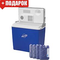 Автохолодильник Mirabelle на 24 л E-24 12/230 V (термобокс - міні холодильник в машину), фото 1