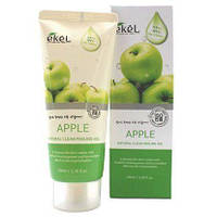 Пилинг-скатка с экстрактом зеленого яблока Ekel Natural Clean Peeling Gel Apple, 100ml