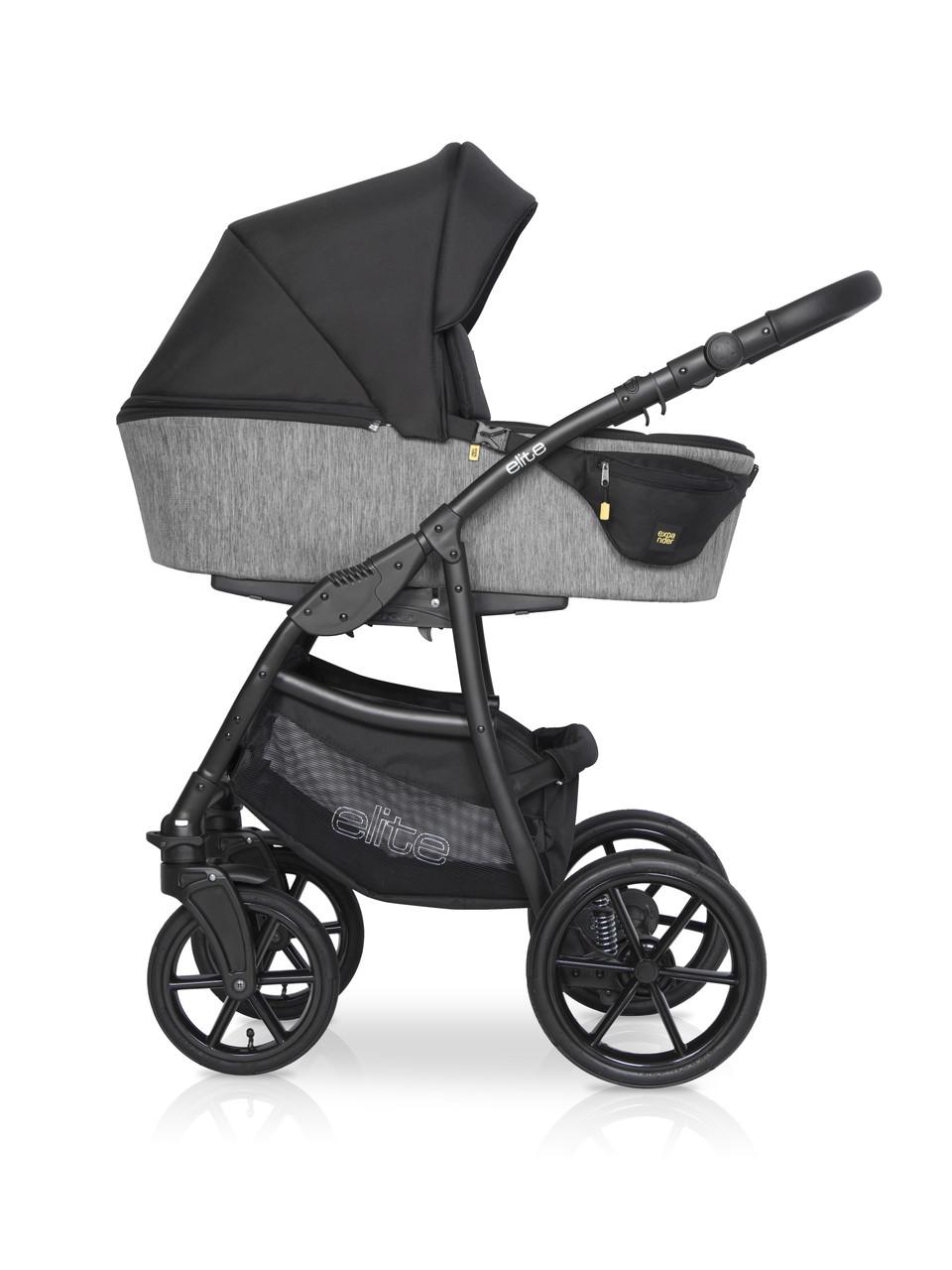 Дитяча універсальна коляска 2 в 1 Riko Elite 04 Carbon