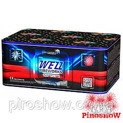 Салют WEZZ FIREWORKS 120 выстрелов 20 калибр | Фейерверк MC127