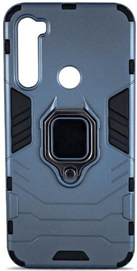 Чехол Armor + подставка Xiaomi Redmi Note 8 (серый)