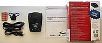 автомобильный антирадар whistler 119ST+gps