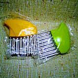 Нож для волнистой нарезки овощей «Compact» зеленый, фото 5