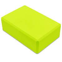 Блок для йоги (75гр, 23x15,5x7,5см) PZ-FI-5736