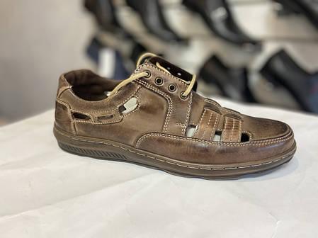 Чоловічі літні туфлі Pan 🇵🇱, фото 2
