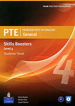 Pearson PTE Test of English General Skills Booster Level 4 Students' Book with Audio CD / Pearson