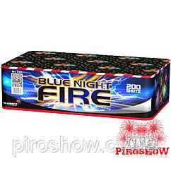 Салютная установка BLUE NIGHT FIRE 200 выстрелов/20 калибр