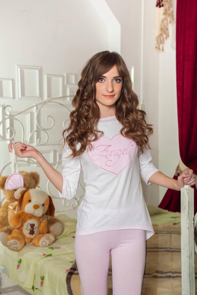 Женская пижама Angel белая 950501