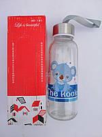 Бутылочка детская с рисунком в коробке 200мл Бутылка Стекло
