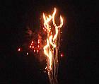 Салютная установка BLUE NIGHT FIRE 200 выстрелов/20 калибр, фото 9