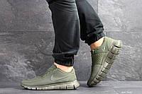 Кроссовки Nike Free Run 5.0, темно-зеленые, 45р. по стельке - 28,4см