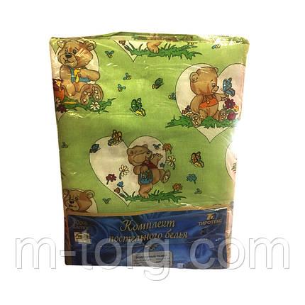 Детское полуторное постельное белье 145*215 см,2 наволочки 70*70 см 100%хлопок Tiratex  Тирасполь, фото 2