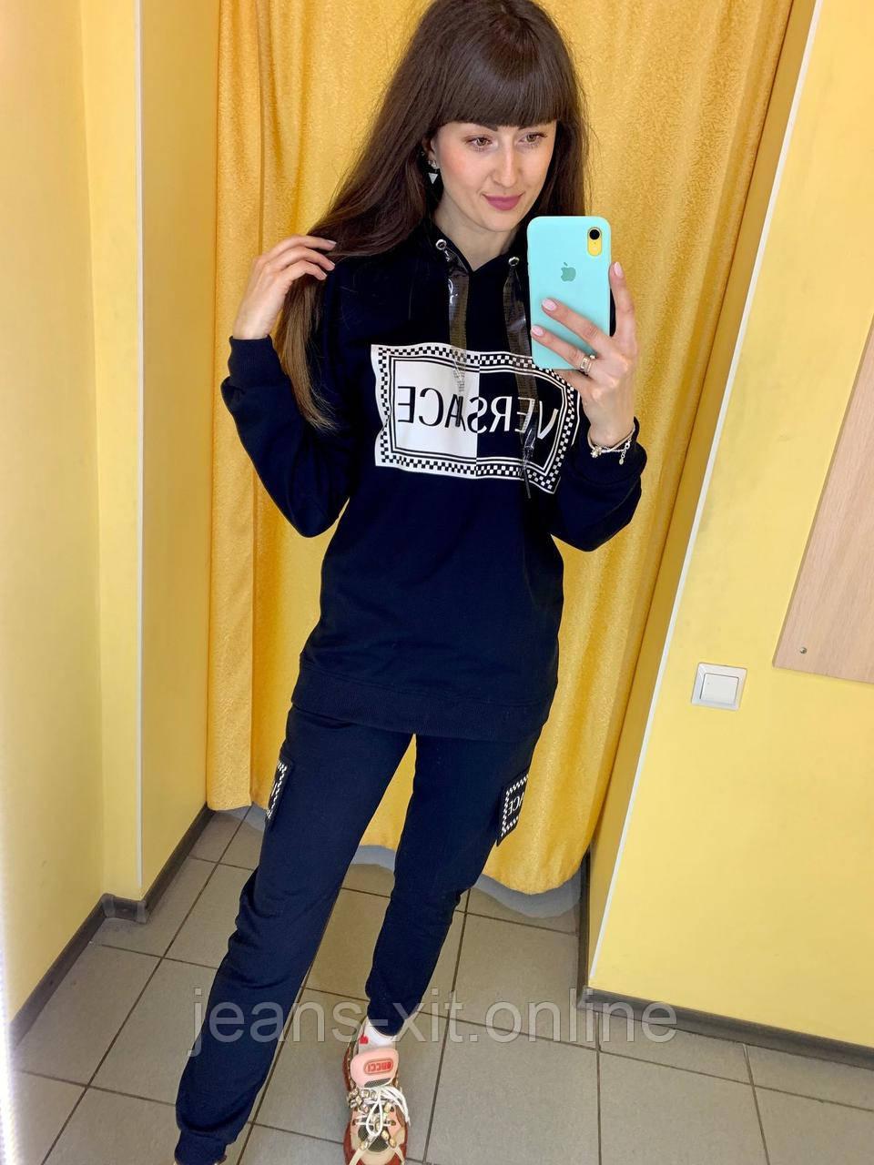 Fashion костюм Жін. L(р) чорний 0984 VERSACE Туреччина Осінь-B