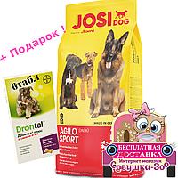 Корм Йозера Аджило Спорт Josera Agilo Sport для собак 18 кг
