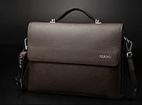 Мужская кожаная сумка. Модель 61225, фото 9