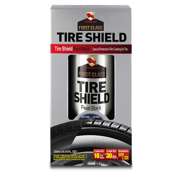 Полироль для шин Bullsone Tire Shield ➧ чёрный жемчуг ➧ рассчитано на 3-4 авто ✓ 300 мл - Автокар в Киеве