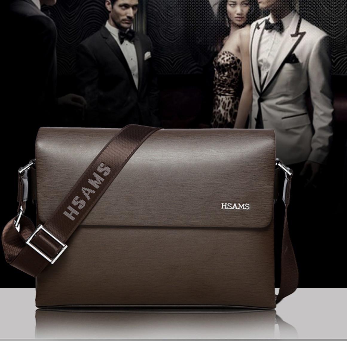 Мужская кожаная сумка. Модель 61225