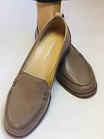 Molka. Женские туфли-мокасины из натуральной кожи.Vison. Размер 35, 36, 37,38, 38, Vellena, фото 7