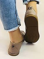 Molka. Женские туфли-мокасины из натуральной кожи.Vison. Размер 35, 36, 37,38, 38, Vellena, фото 5