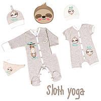 Новая летняя коллекция одежды Baby Veres Sloth yoga!!!