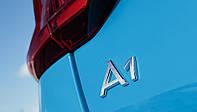 Эмблема надпись багажника Audi А1, фото 1