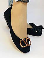 Стильні! Жіночі туфлі -балетки з натуральної шкіри 35-40. Супер комфорт.Vellena, фото 4