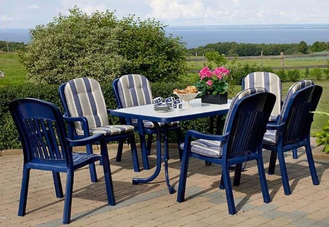 Пластиковые столы для сада