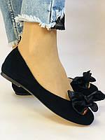 Стильні! Жіночі туфлі -балетки з натуральної шкіри 35-40. Супер комфорт.Vellena, фото 2