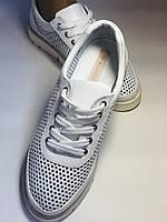 Alpino.Туреччина. Жіночі кеди - кросівки. Натуральна шкіра. Білі з перфорацією. Розмір 36,37,38,39,40., фото 10