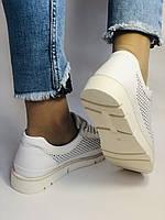 Alpino.Туреччина. Жіночі кеди - кросівки. Натуральна шкіра. Білі з перфорацією. Розмір 36,37,38,39,40., фото 6