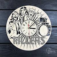 Оригинальные интерьерные настенные часы «The Killers»