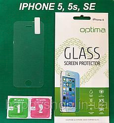 Защитное стекло для iPhone 5, 5s, SE