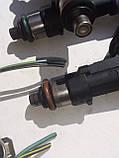 Форсунки Mazda L5-VE 2.5i L50113250  0280158157  8E5GAB, фото 5