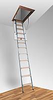 Чердачная лестница Altavilla Termo Metal 4S Pino 90x60 h270см