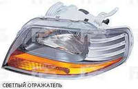 Фара правая мех. 11.05-  (светлый отражатель) Chevrolet Aveo 04-06 (T200)