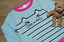 Стильне плаття в'язане з котиком на дівчинку (Розмір 8Т) Gymboree (США), фото 5