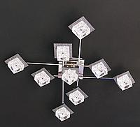 Люстра галогенна стельова з підсвічуванням і пультом (модель 8366-9)
