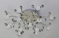 Люстра галогенна стельова з підсвічуванням і пультом (модель 3596-13)