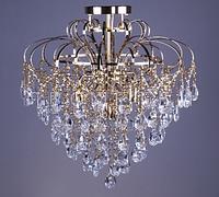 Люстра хрустальная классическая, восьмиламповая (модель 33268-8)