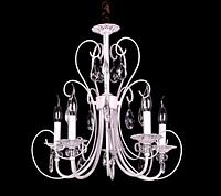Люстра класична (модель 1017-5), колір білий