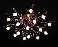 Люстра світлодіодна з підсвічуванням і пультом (модель 3535-16)
