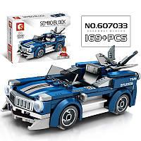 Конструктор 607009 машинка, супергерой, приключения, аналог конструктора лего, для мальчиков.