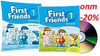 Английский язык / First Friends 1st edition / Class+Activity Book. Учебник+Тетрадь (комплект), 1 / Oxford