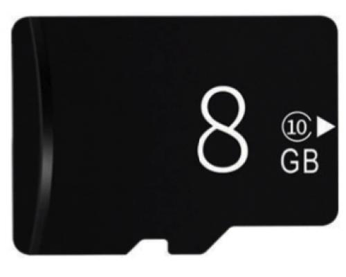 MicroSD карта памяти 8GB Сlass 10 для трекеров, IP-камер и видеокамер
