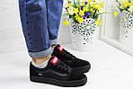 Женские кроссовки Vans (черные) 9268, фото 5