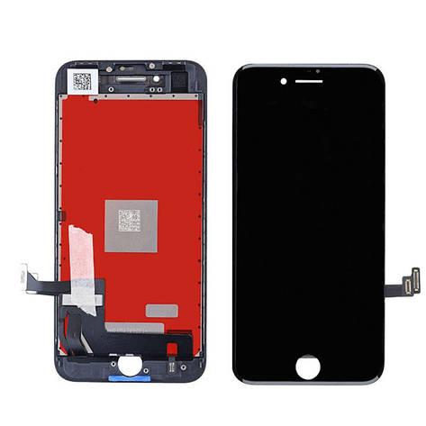 Дисплей для Apple iPhone 8 Черный (ААА), фото 2