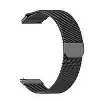 Amazfit GTS Комплект для смарт часов (металлический ремешок и бампер), Black, фото 3
